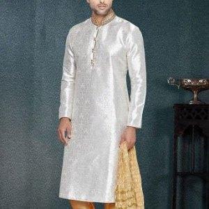sherwani-blanc