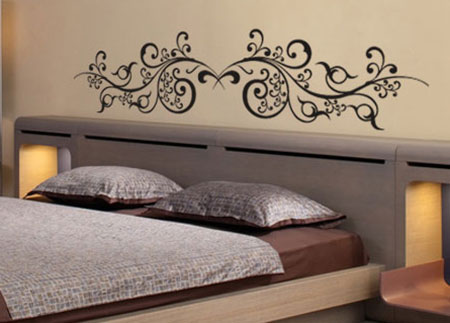 stickers oriental vente stickers muraux pour tete de lit. Black Bedroom Furniture Sets. Home Design Ideas