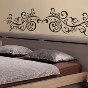 stickers oriental vente stickers muraux pour tete de lit et porte pas cher. Black Bedroom Furniture Sets. Home Design Ideas