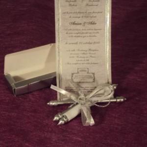 parchemin-mariage-invitation-argent-lyon