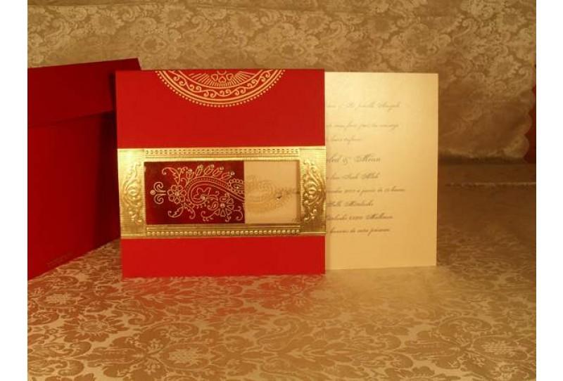 coordonnes de la tour de babel - Carte Invitation Mariage Oriental