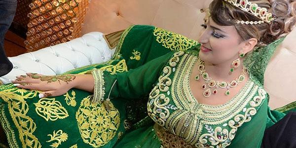 robe de ceremonie orientale
