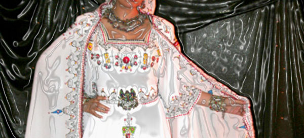 robe kabyle blanche