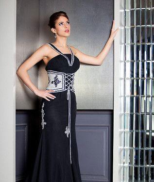 robe libanaise de soirée noire