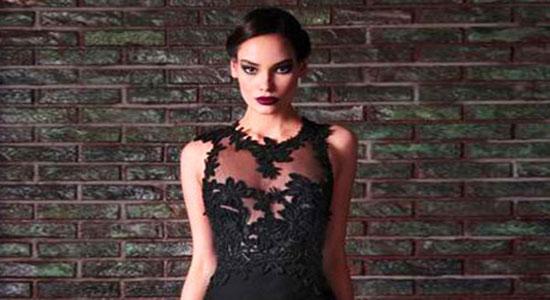 robe libanaise noire