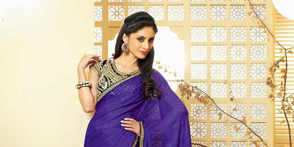 couleur pour un sari indien