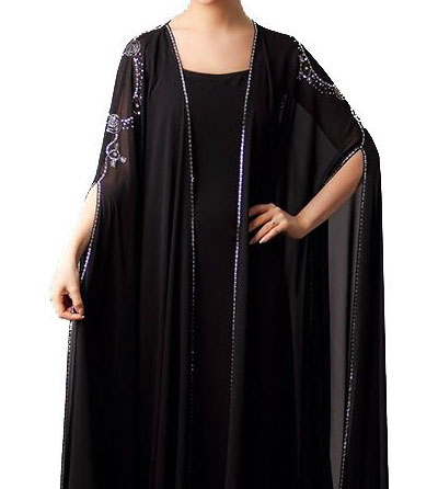 abaya dubai haut de gamme noir
