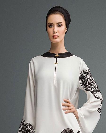 abaya dubai raffinee blanche