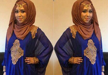robe dubai hijab couronne
