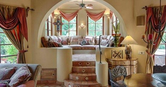 décoration orientale d'intérieur