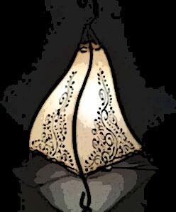 lampe de chevet orientale pas cher