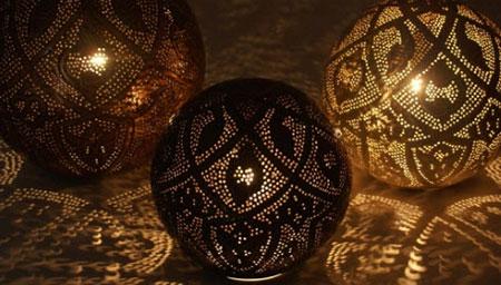 lampe de chevet orientale en cuivre laiton verre pas cher. Black Bedroom Furniture Sets. Home Design Ideas