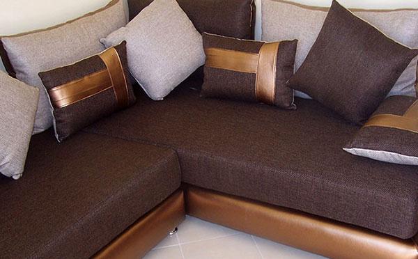 canap d 39 angle marocain vente canap marocain cuir angle en u l pas cher. Black Bedroom Furniture Sets. Home Design Ideas