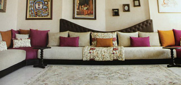 canape marocain moderne