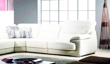 salon marocain design blanc