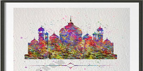 cadre musulman minaret