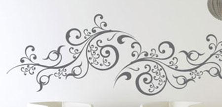 stickers arabesque moderne