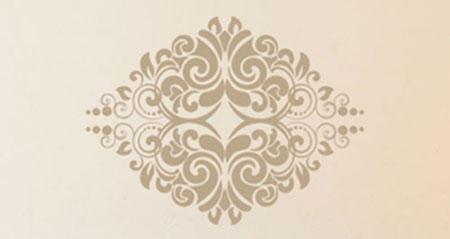 stickers muraux arabesque