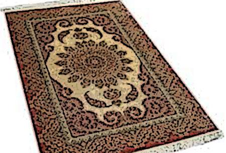 tapis iran moderne