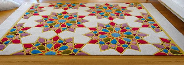 tapis marocain moderne