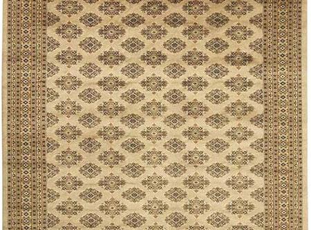tapis pakistanais soie moderne