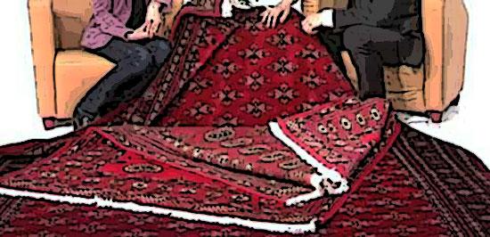 tapis pakistanais