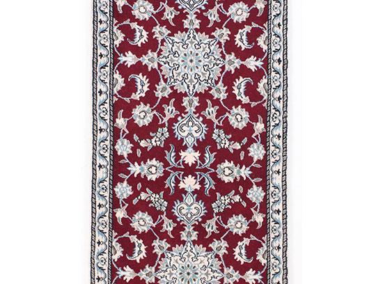tapis persan en soie moderne